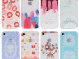 苹果iphone5s保护套5新款手机壳彩绘荔枝纹pc壳iphon