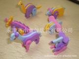 6款儿童动物 EVA立体拼图 2012新款 大量批发 环保材料