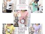 夏季女装短袖t恤女士上衣半袖服装厂家直销