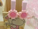 韩版儿童饰品2元店树脂发夹 太阳花 玫瑰花发夹批发