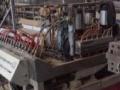 80锥双整条线出,可做600快装板,牵引定型1米,原来做PVC中