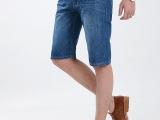 牛仔中裤夏2015男装批发商务休闲直筒薄款男裤牛仔短裤男式五分裤