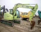 二手日立73挖掘机低价纯土方车没打过锤手续齐全免费配送