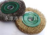 永康磨具厂抛光钢丝轮 100平型除锈抛光钢丝轮 批发抛光钢丝轮