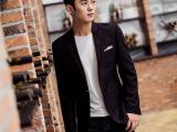 2015秋冬新款英伦西服韩版男士修身港风单西服男小西装一件代发