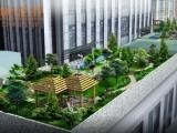 哈尔滨3D园林景观鸟瞰图
