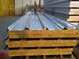 常州实力制造厂家产地直销不锈钢岩棉夹芯板,价格实惠