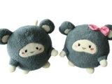 创意可爱情侣跳跳仓鼠公仔玩偶抱枕毛绒玩具女生日礼物 一件代发