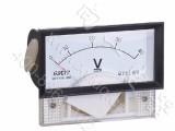 高精度69C17指针安装式方形外形九十度电压测量仪表