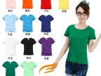 2014新上市莱卡纯色圆女装空白t恤 无商标客户可自行更换自己商标