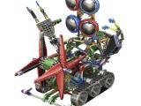 LOZ俐智A1718大眼合体机器人智拼装积木外星人diy玩具益智