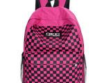 厂家直销2013新款韩版时尚水立方印花图案双肩包电脑背包批发