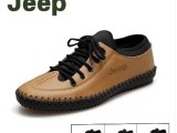 一件代发透气真皮休闲鞋男士皮鞋英伦鞋子潮韩版男鞋英伦男豆豆鞋