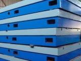 河北精隆铸铁钳工工作台订做异型规格铸铁工作台