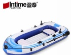 橡皮艇加厚充气船皮划艇冲锋舟钓鱼船3人救生船气垫船