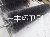 全钢丝扫雪刷辊 钢丝清雪车滚刷