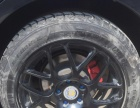 转P40亚光黑轮毂带胎,喜爱改装的朋友可以看看