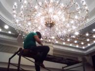 朝阳水晶灯清洗 朝阳区专业水晶灯清洗公司 海淀水晶灯清洗方案