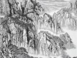 河南比较有名的山水画名家-吴优