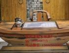 白银市老船木家具茶桌办公桌餐桌椅子实木沙发茶几茶台鱼缸博古架