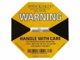 SHOCKOKEE防震标签25g物流运输监控冲击指示器