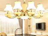 简欧客厅吊灯 欧式水晶吊灯简约现代餐厅卧