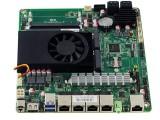 ITX4网口4USB4COM和4SATA集成3865U主板