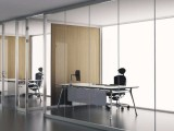杭州万国办公隔断玻璃安装