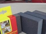 厂家直销 EVA海绵砂块 磨块批发 海绵磨块( 白刚玉白色)