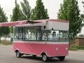 小吃车生产厂家直销多功能电动餐车 宣传车 美食车 可定制