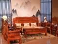 缅甸花梨沙发十一件套