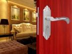 不锈钢门锁 木门执手锁 卧室房门锁 机械门锁 双舌