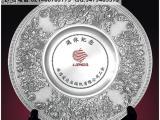 厂家直销纯锡奖牌 会员奖牌锡盘精选样式 上海定做退休纪念盘