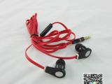 工厂直销 4.0面条耳机 外观时尚 手机带麦耳机 入耳式耳机麦