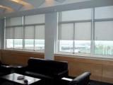 广州窗帘安装办公室卷帘窗帘百叶窗帘安装