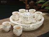 厂家直销 茶具套装特价 茶盘 7头双层杯套装 8头 2号盘 BG