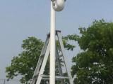杨浦宝山停车道闸监控电子围栏无线