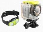F20高清1080P广角户外运动摄像机 手表式带遥控WIFI传输RF 潜水DV