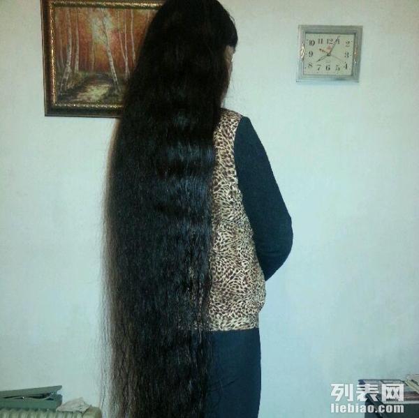 卖本人长头发.图片