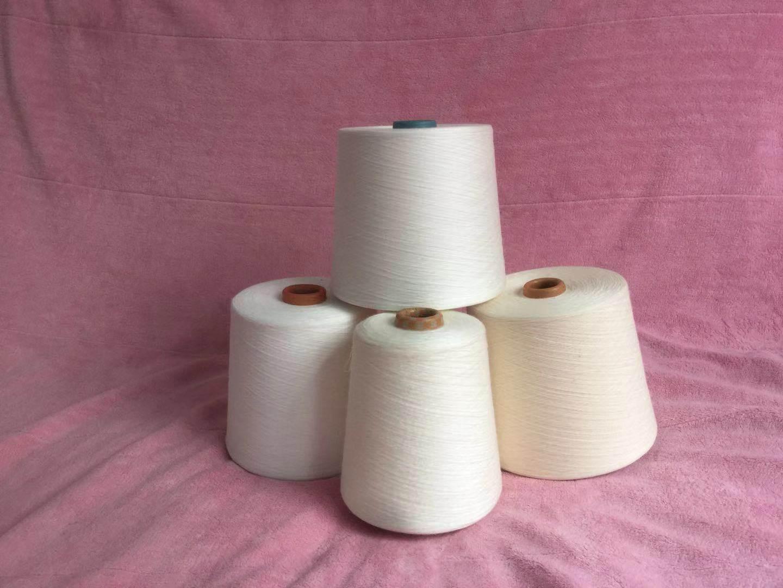 新疆长绒棉纱120支可漂白可染色