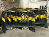 铁马 围栏施工隔离铁栏 黄黑铁马 交通器材可移动防护栏定做