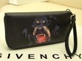 欧美时尚罗威纳恶犬纪梵希狗头女包两折长款钱包韩版拉链卡包女包