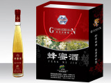 (淘唐河)古唐石柱山原生态养生酒蜂蜜酒12度两支装一提厂家批发