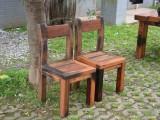 老船木茶桌椅组合客厅功夫茶几中式仿古茶台户外简约茶桌实木家具