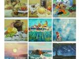 学画画来海牛 名师指导 零基础成人绘画油画美术培训