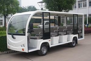 XW11座电动观光车 带不锈钢扶手 现车
