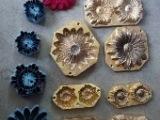 香皂花模具、铜定型模具、仿真花定型模具