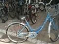 大学毕业,永久自行车95新,送锁出售!!!