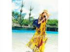 2014新款女装韩版沙滩裙波西米亚度假休闲连衣裙