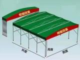 厂家定制大型仓库棚钢架雨蓬移动雨棚工地帐篷推拉蓬停车棚
